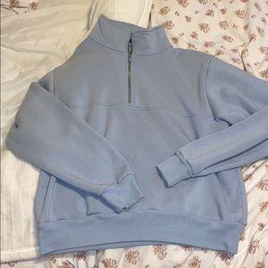 BRANDY MELVILLE collared hoodie
